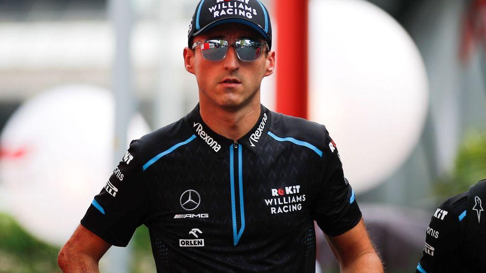Foto: Kubica dejará Williams a final de temporada. (EFE)