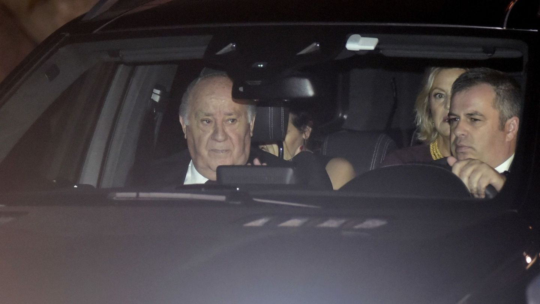 Amancio Ortega durante la boda de su hija Marta.(EFE)