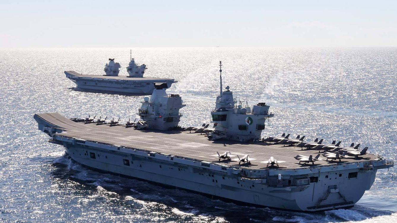 UK saca pecho con sus nuevos portaaviones: estos son sus gigantes de 65.000 toneladas