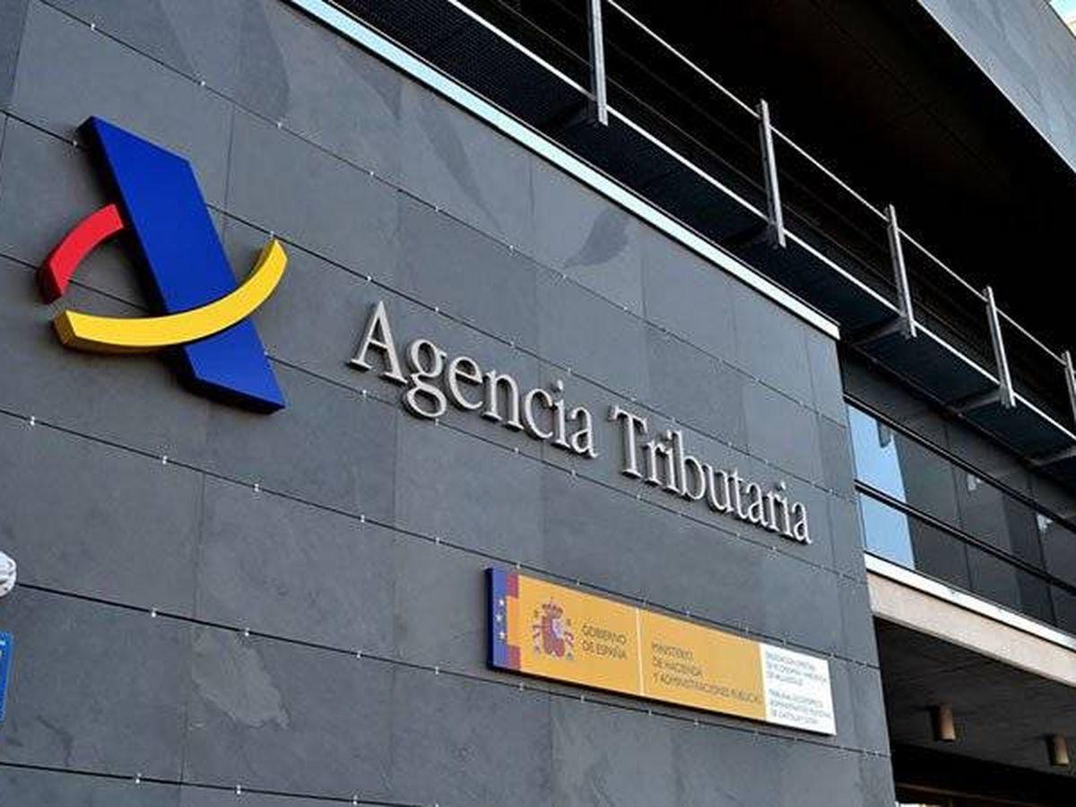 Foto: Fachada de una oficina de la Agencia Tributaria.