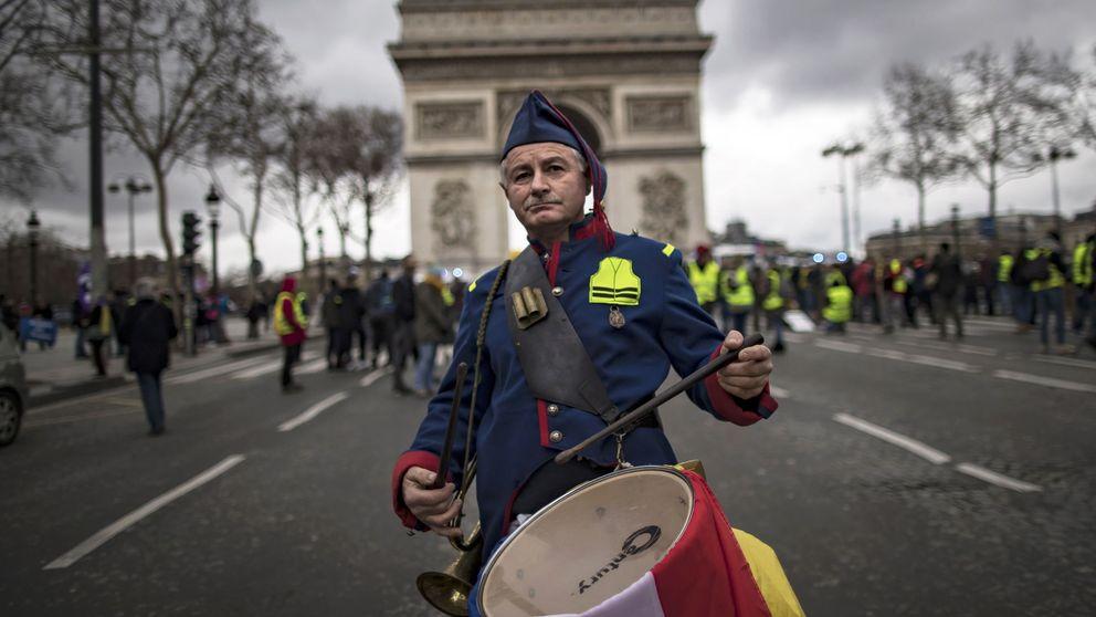 La ley de Macron para sacar a los 'malos' manifestantes de las calles de Francia