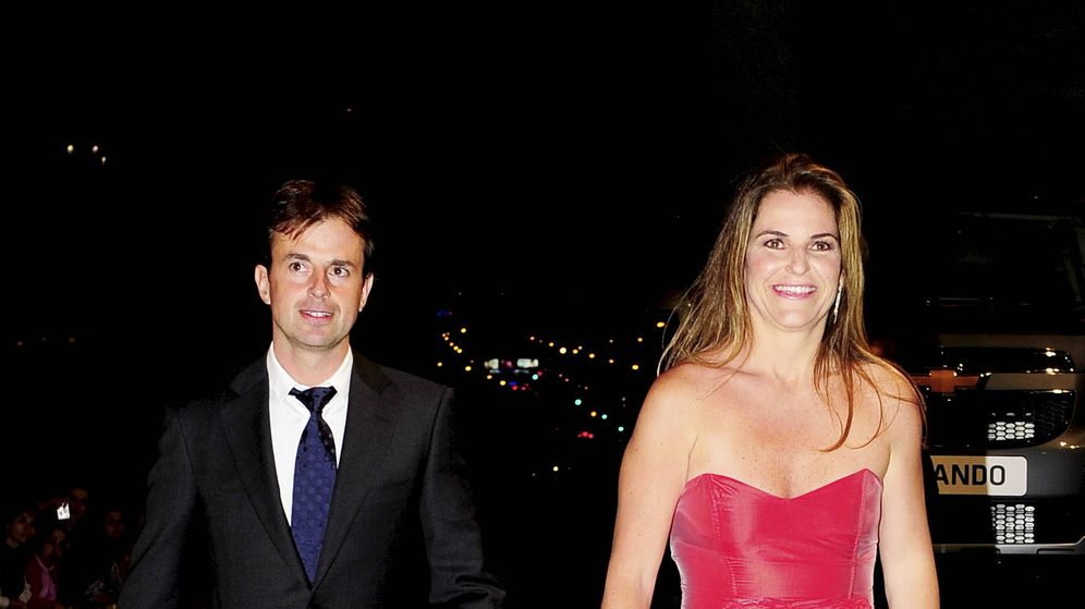 Foto: La tenista y su marido en los años en los que eran felices. (Gtres)