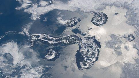 Las Galápagos desde el espacio