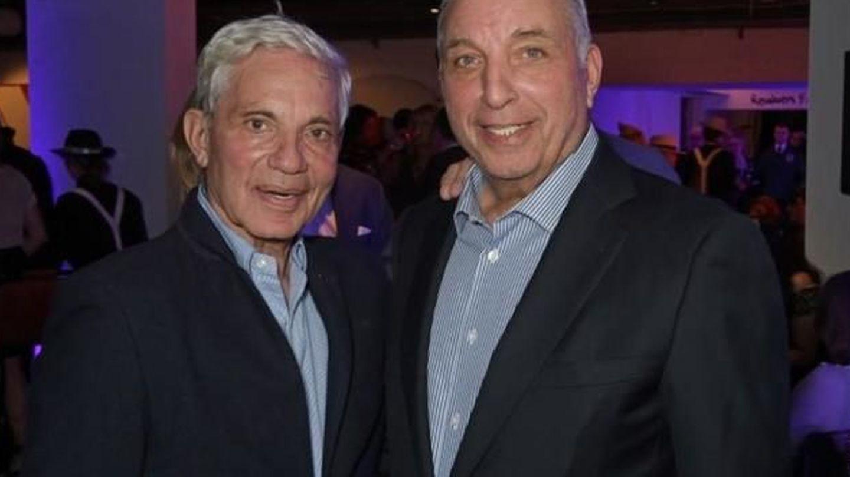 David y Simon Reuben. (Reuben Foundation)