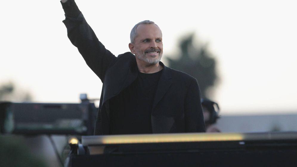 Foto: Miguel Bosé, en San Diego. (Getty)