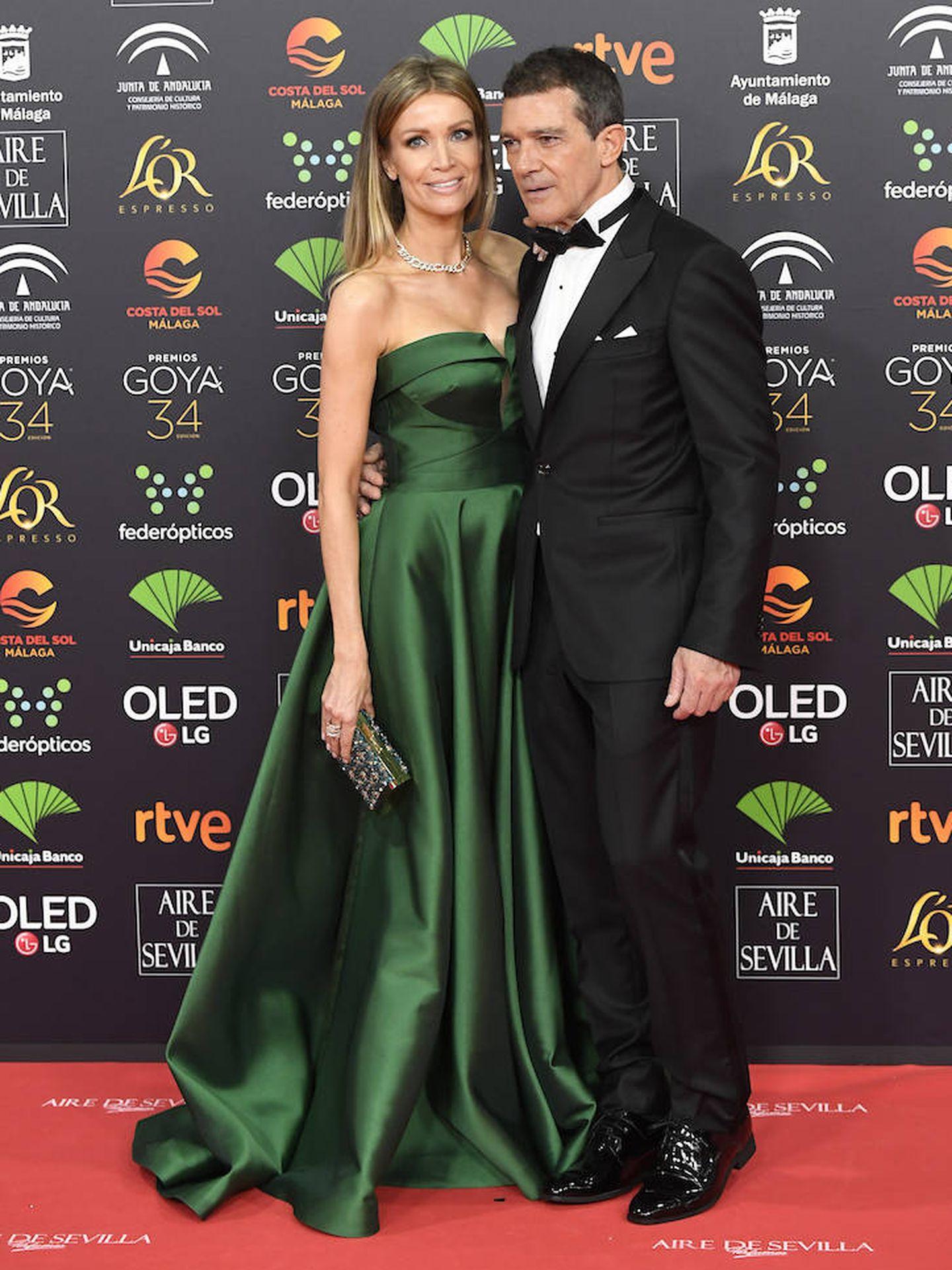 Nicole Kimpel y Antonio Banderas. (Limited Pictures)