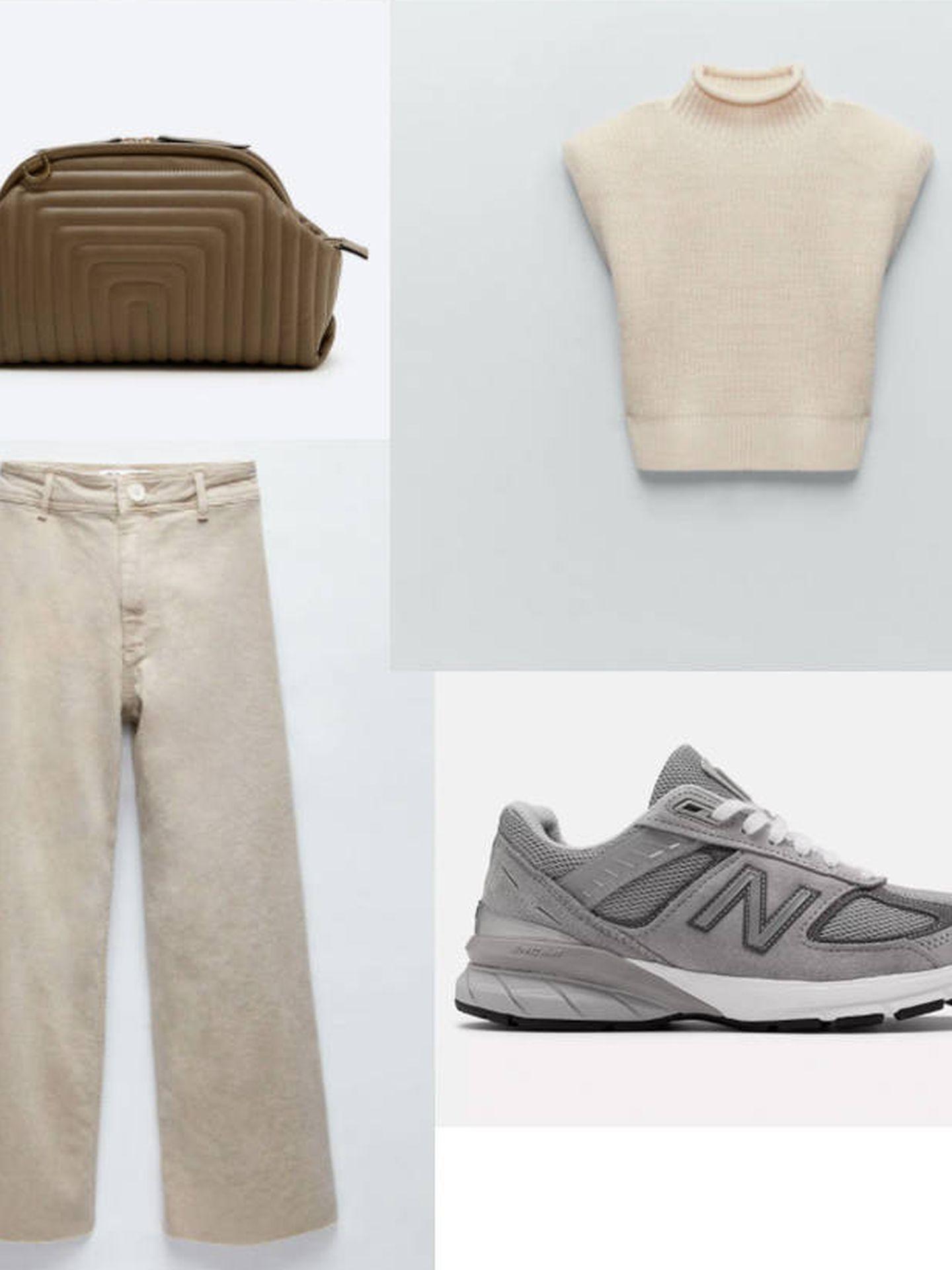 Uterqüe, Zara, New Balance.