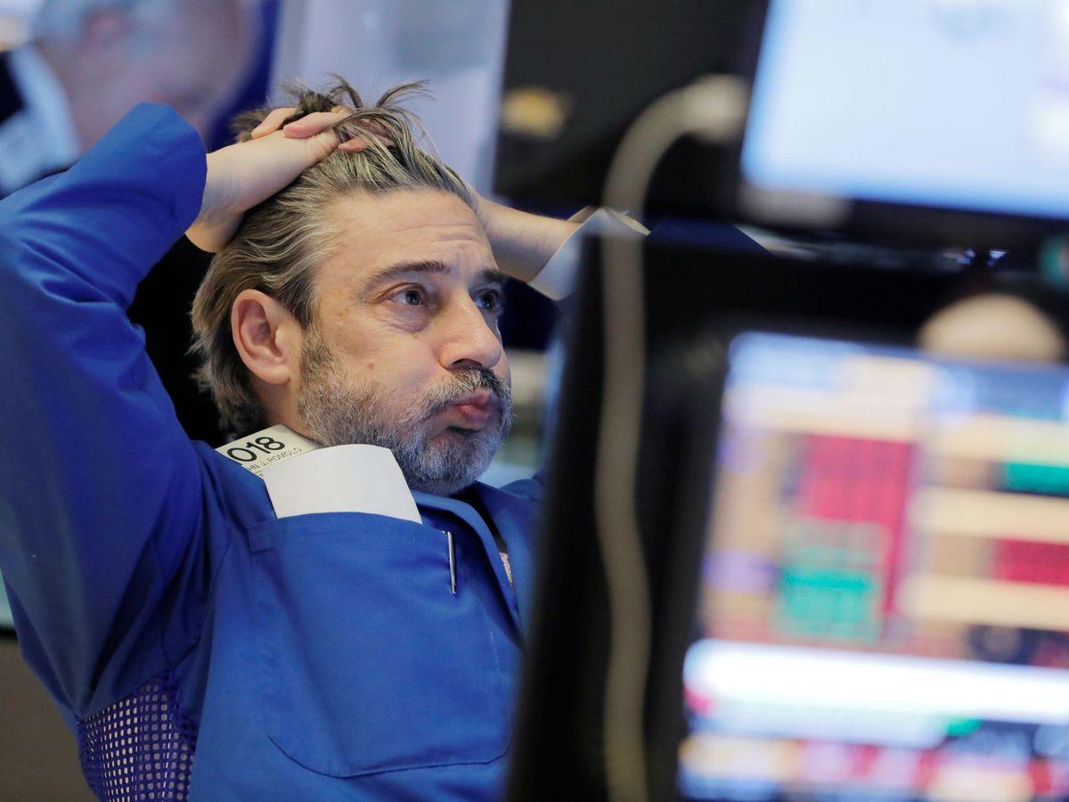 Foto: Un 'trader' en la bolsa de Nueva York. (Reuters)
