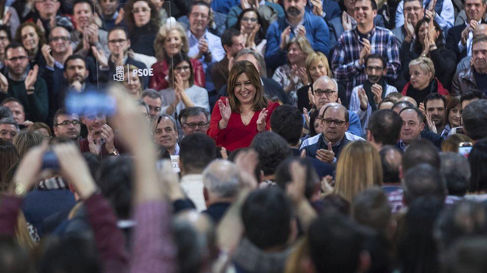 Susana Díaz enfila su anuncio con una agenda llena dentro y fuera de Andalucía