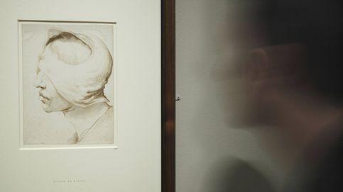 Ribera desnuda su infierno a lápiz y tinta