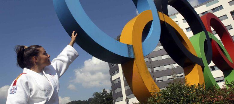 Foto: La judoca Sara Rodríguez, abanderada de la campaña Madrid 2020