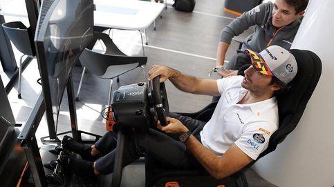 El gran nivel del invitado Thibaut Courtois en el GP de F1 online creado por los pilotos