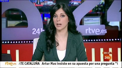 Sirun Demirjian se queda sola al frente del 'Telediario matinal'