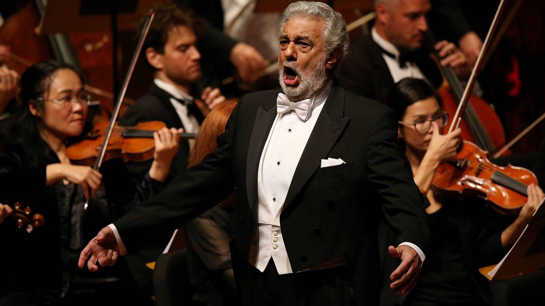 Plácido Domingo, interpretando 'Nabucco' en California. (Getty)