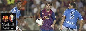 Foto: El Barcelona recibe a un Osasuna que aún tiene pesadillas con el 8-0 en Liga