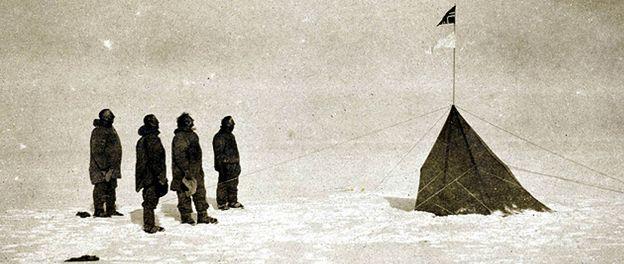 Foto: La única foto de la primera expedición al Polo Sur, descubierta en Australia