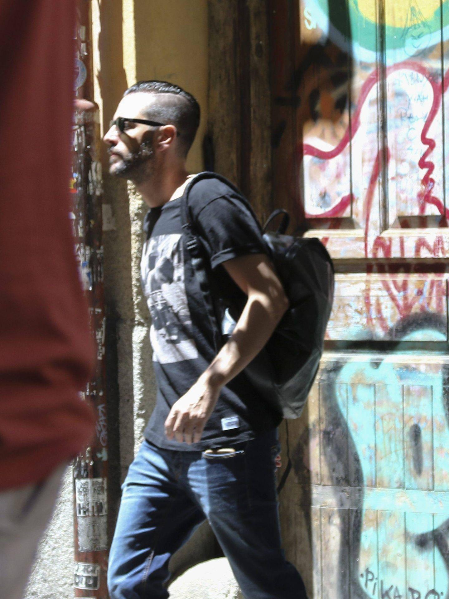 Dani Mateo, por las calles de Madrid. (Cordon Press)