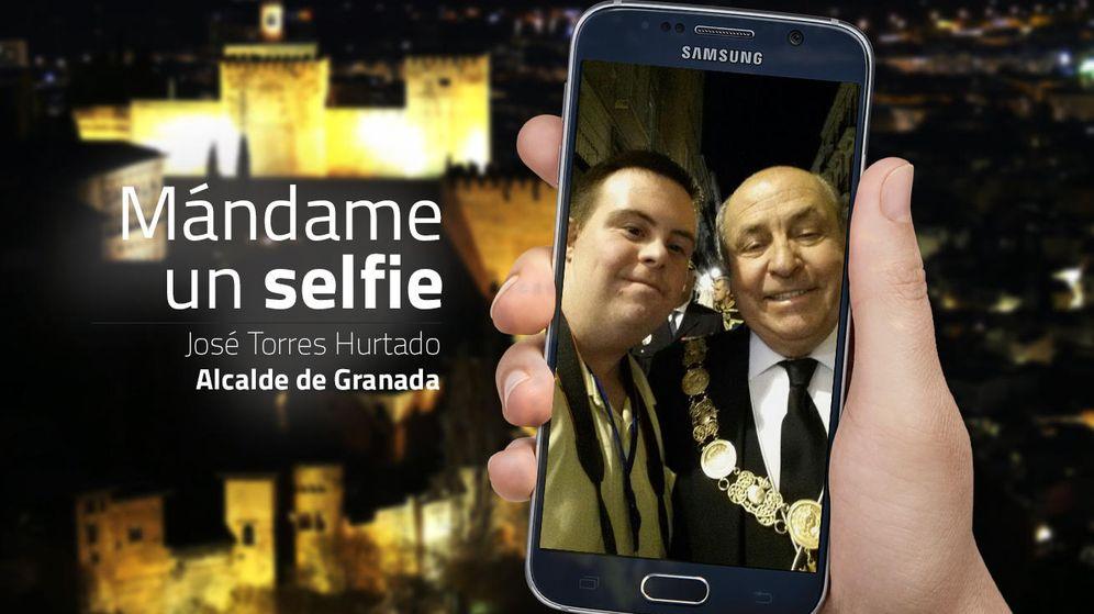 Foto: José Torres Hurtado, actual alcalde de Granada. (EC)