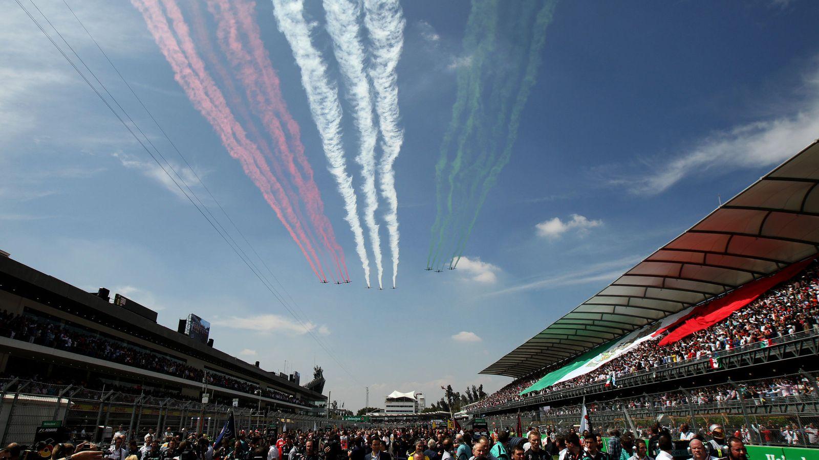 Foto: El GP de México regresó al calendario de la F1 en 2015 tras 23 años de ausencia. (EFE)