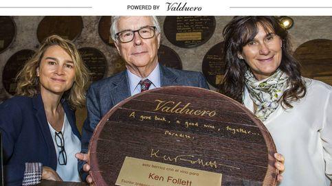 Ken Follett: Los secretos de su próxima novela y su vino favorito