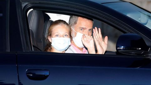 La reina Letizia cede todo el protagonismo a Leonor a su llegada a Mallorca