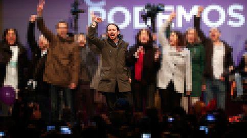 Pablo Iglesias vuelve a explotar la banda sonora progre de la Transición