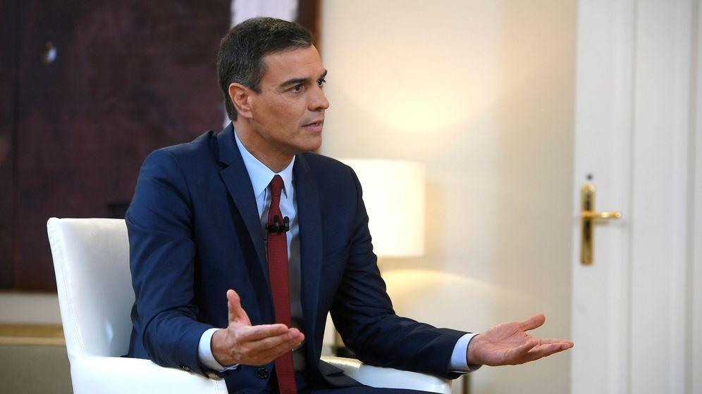 Foto: Sánchez insiste en rechazar la entrada en el gobierno del líder de podemos
