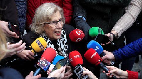 Carmena insiste en colaborar con Garrido para resolver la huelga de taxistas