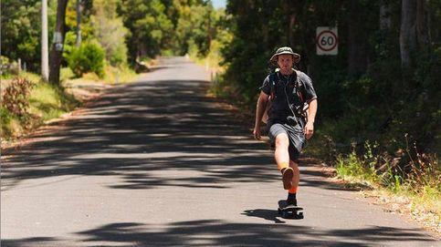 Un aventurero recorre 4.000 kilómetros por Australia en monopatín