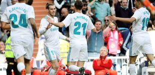 Post de La penitencia de Bale cuando juega los 'marrones' como un canterano