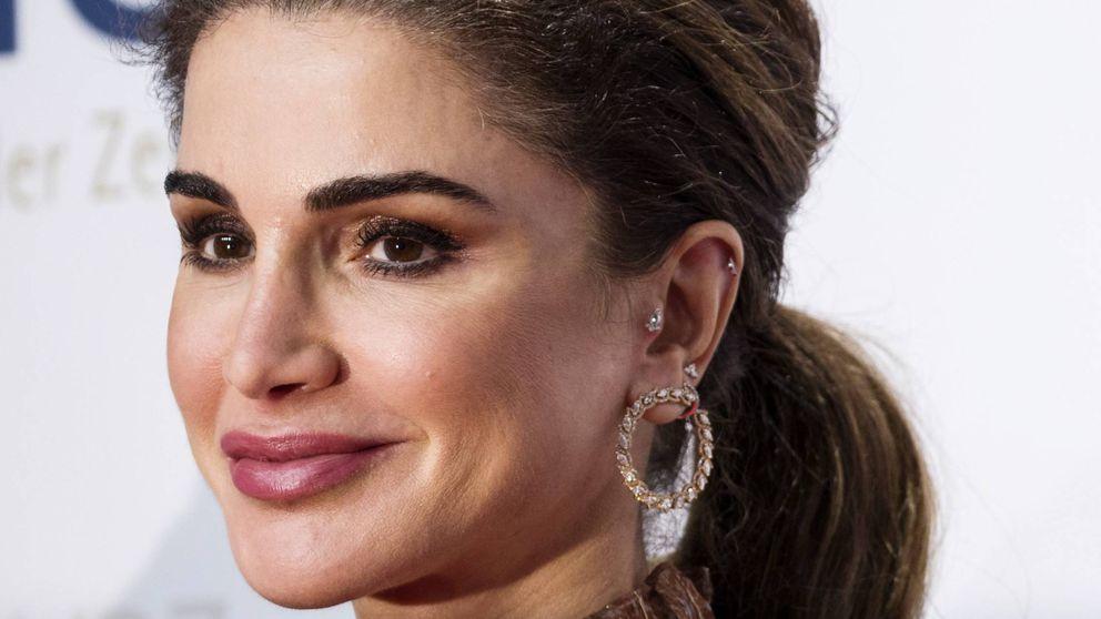 El inusual caso de Rania de Jordania, la reina que se atreve con los piercings