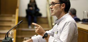 Post de El portavoz de Bildu en el Parlamento vasco borra su máster... en Derechos Humanos