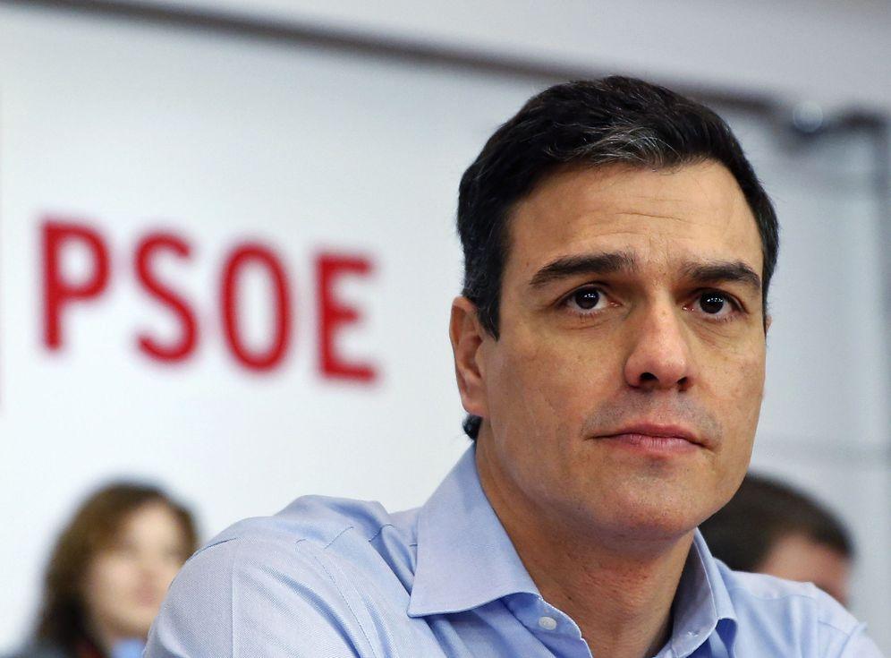 Foto: Pedro Sánchez, este 29 de febrero al comienzo del comité federal del PSOE, previo al debate de investidura. (Reuters)