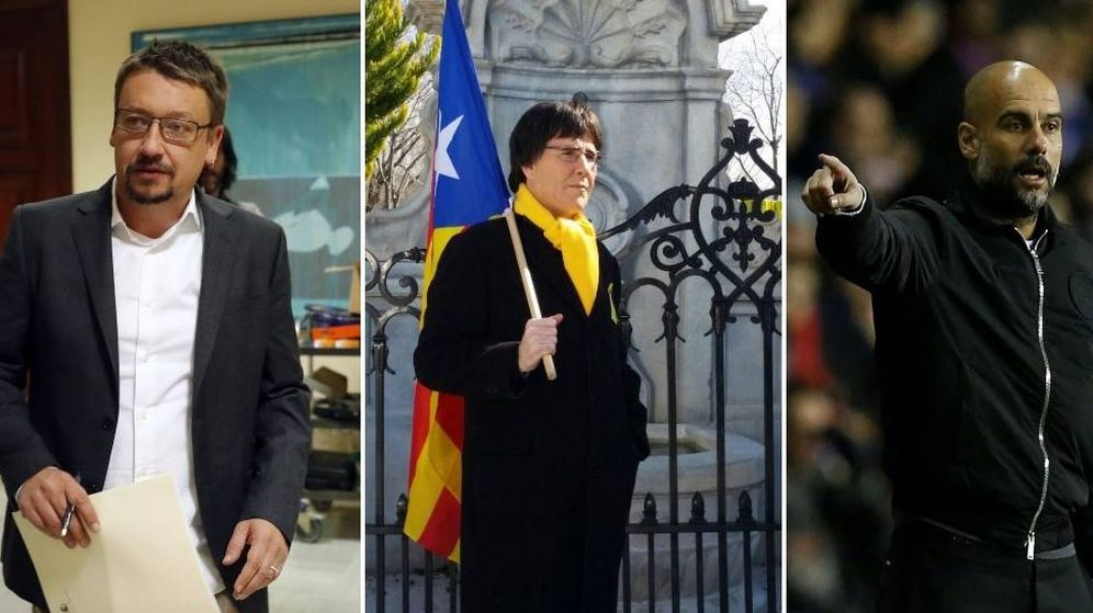 Foto: Registrar el maletero del taxi de Domènech o el avión de Guardiola han sido otros intentos de capturar a Puigdemont.