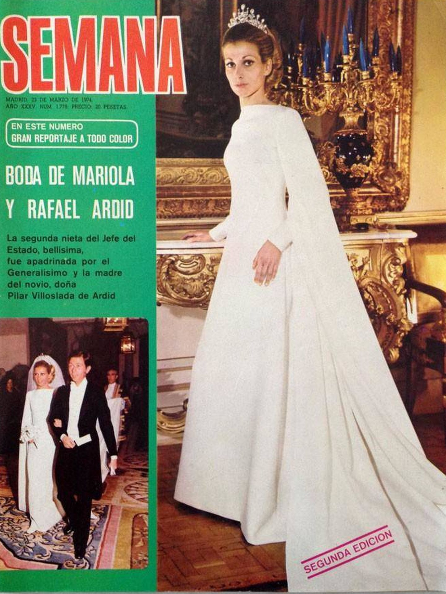 Boda de Mariola y Rafael Ardid. (Semana)