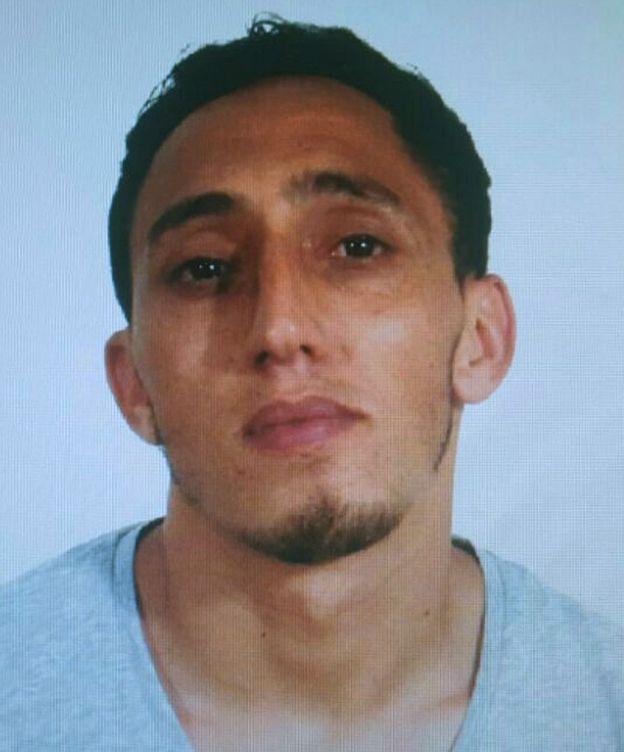 Foto: Driss Outkabir, uno de los supuestos terroristas del atentado de las Ramblas (EFE)