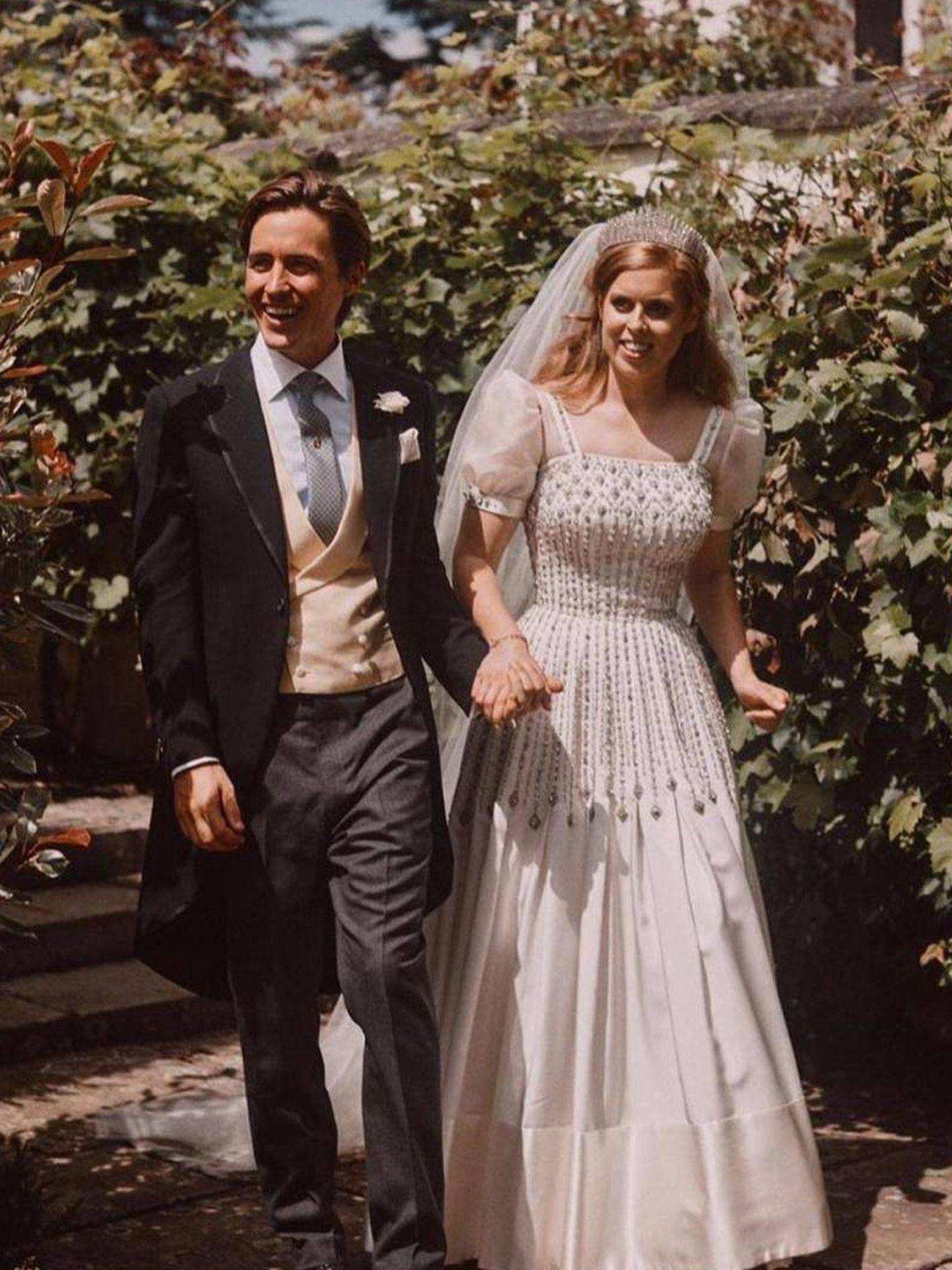 La princesa Beatriz y su marido. (RR.SS.)