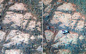 El misterio de la piedra marciana saltarina
