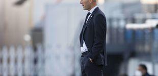 Post de Los cuatro cambios de Zidane contra el Cádiz, un récord inútil: