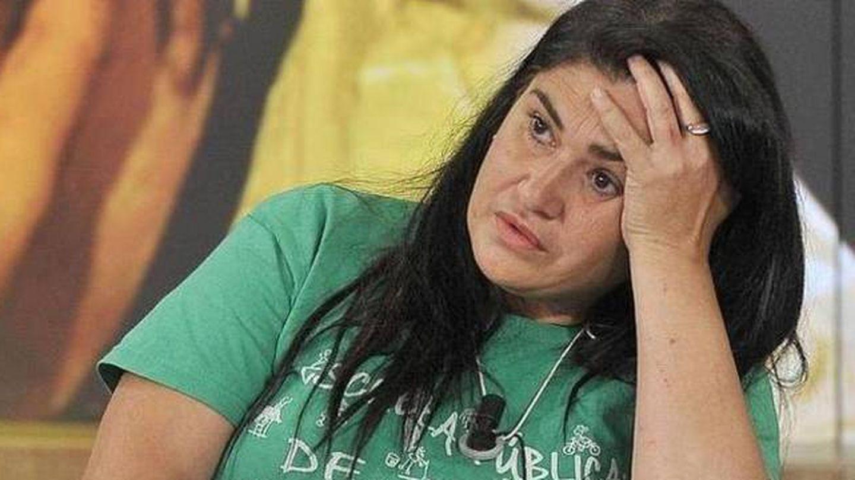 Lucía Etxebarría en una imagen del programa. (Telecinco)