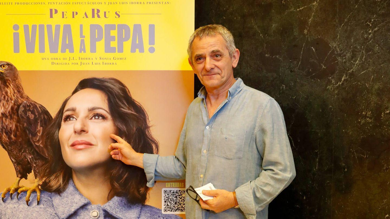 Iñaki Miramón, en el estreno de Pepa Rus. (Gtres)