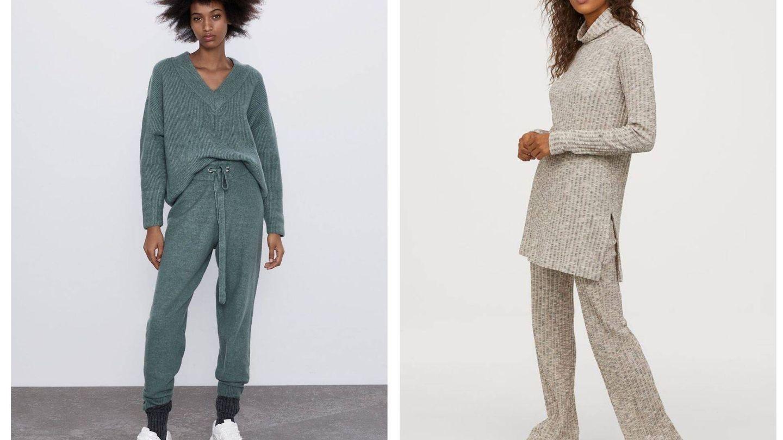 Dos opciones low cost con pantalón.  (Cortesía)