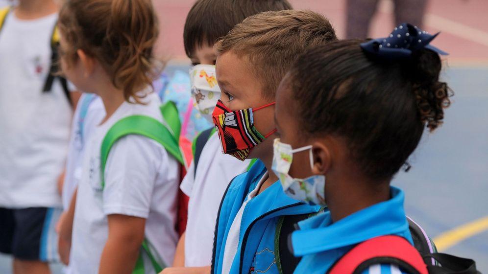 Foto: Alumnos de un colegio de Gran Canaria. (EFE)