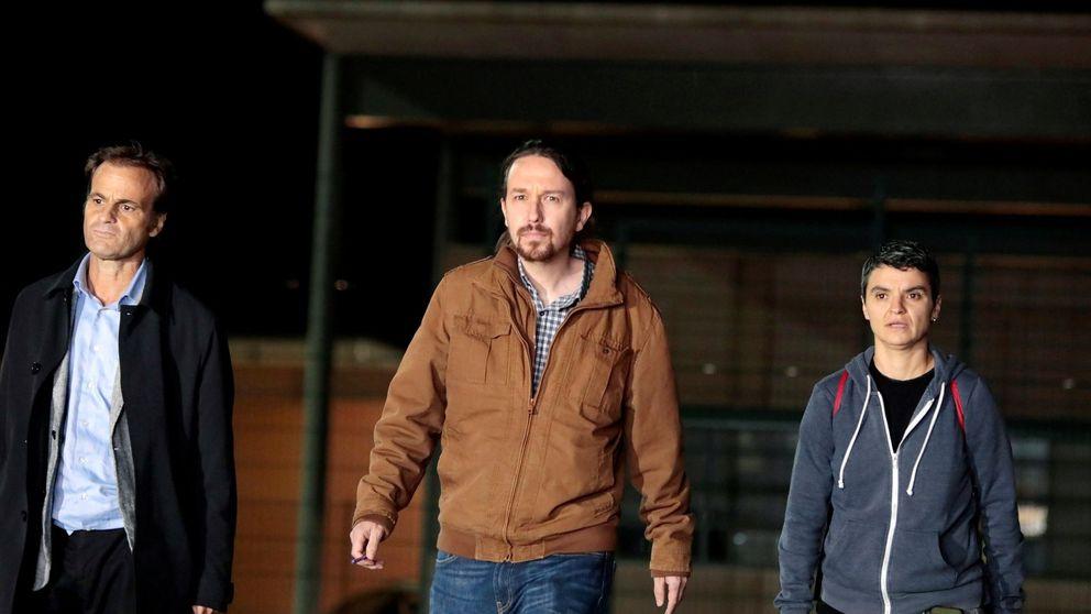 Iglesias hablará por teléfono con Puigdemont tras su reunión con Junqueras