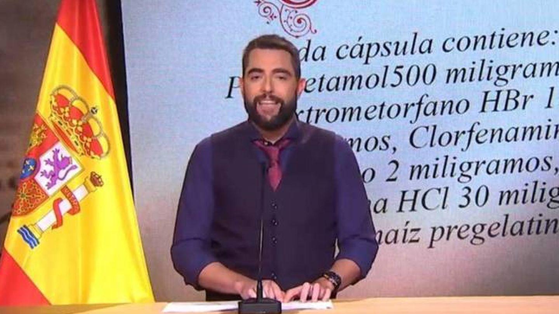 Dani Mateo, en 'El intermedio'. (Atresmedia).