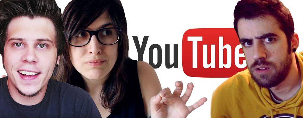 Foto: Algunos de los youtubers más famosos de internet.