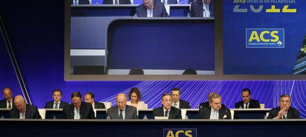 Foto: ACS amortiza el 0,81% de su capital para evitar diluciones por el 'scrip dividend'