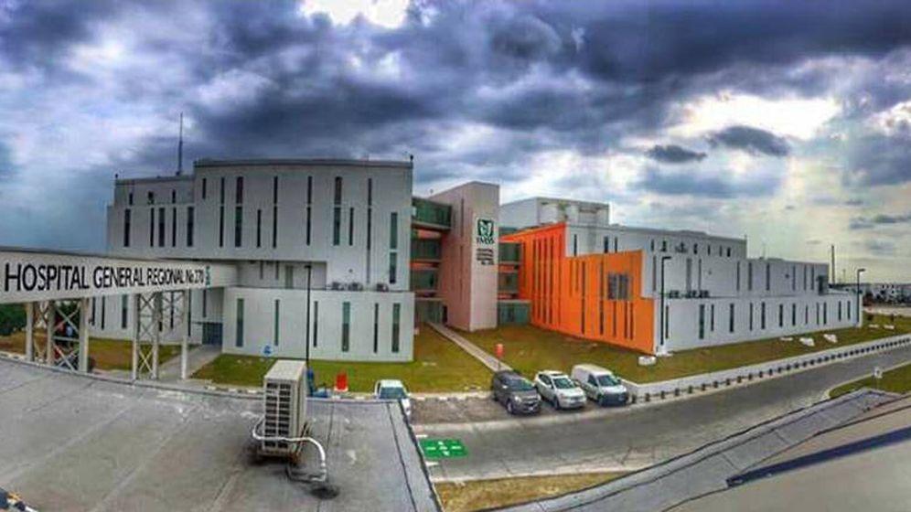 Foto: El hospital de especialidades 270 de Reynosa donde ingresó el paciente (Foto: Facebook)
