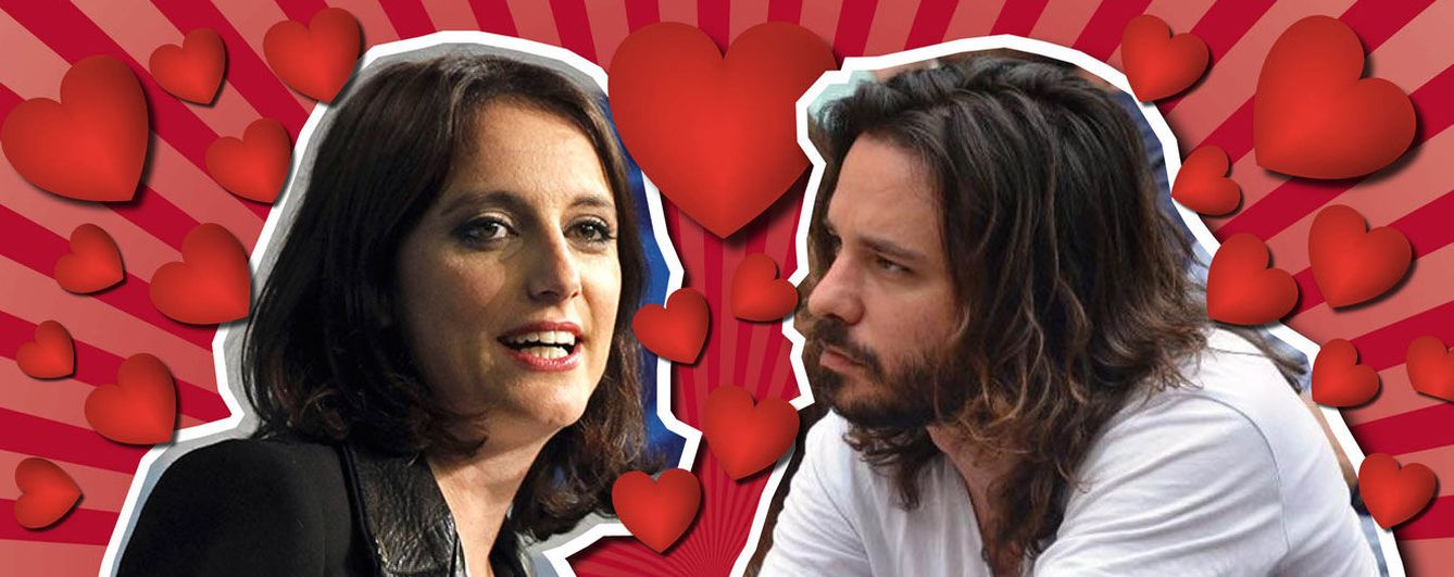 'Love is in the air': Miguel Vila (Podemos) conquista a Andrea Levy (PP)