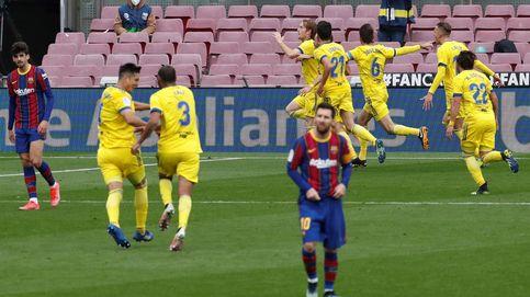 El Cádiz corta la racha triunfal del Barça en LaLiga tras un error infantil de Lenglet (1-1)